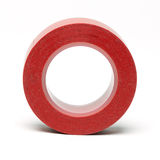 Red insulating Tape Stock Photo
