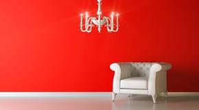 Red Interior Stock Image