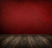 Red interior room Royalty Free Stock Images