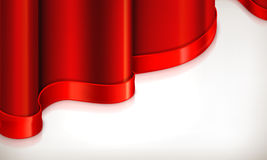 Red invitation background Stock Images