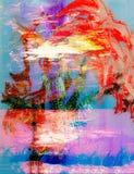 Red Iris Stock Images