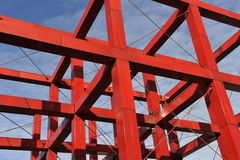 Red Iron Construction Royalty Free Stock Image