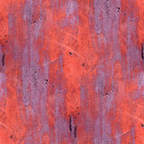 Red iron seamless grunge abstract background Stock Images