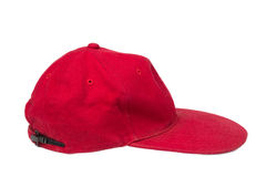 Red isolated hat Royalty Free Stock Photos