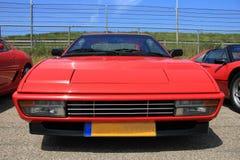 Red Italian sport car Royalty Free Stock Image