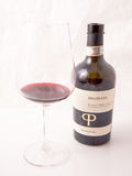 Red italian win, Primitivo di Manduria natural sweet. Royalty Free Stock Photos