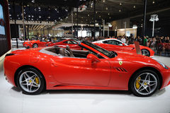 Red Italy Ferrari pavilion Royalty Free Stock Photos