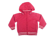 Red Jacket child Royalty Free Stock Images