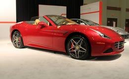 Red Ferrari 2015 Stock Image