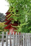 Red Japanese Building Royalty Free Stock Images