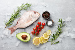 Red Japanese seabream cooking Stock Photography
