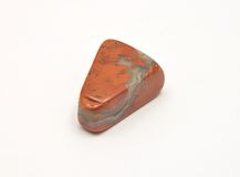 Red jasper mineral Stock Photos