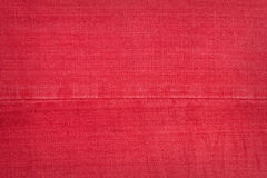Red jeans texture Royalty Free Stock Photography