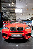 Red jeep car BMW X5 M Stock Images