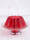 Red jello Royalty Free Stock Images
