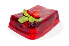 Red jelly Royalty Free Stock Images