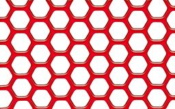 Red jelly net Stock Images