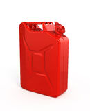 Red jerrycan Stock Photography