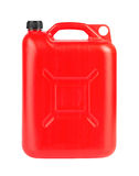 Red jerrycan Stock Photos