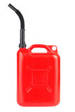 Red jerrycan Royalty Free Stock Photos