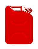 Red jerrycan Stock Images