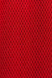 Red jersey. Red hockey jersey closeup for sports background Royalty Free Stock Image