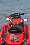 Red jet ski Royalty Free Stock Images
