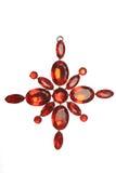 Red jewel decoration Stock Image