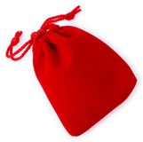Red jewelry bag02 Stock Photo