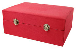 Red Jewelry box Royalty Free Stock Photography