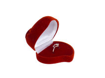 Red jewely box Royalty Free Stock Image