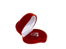 Red jewely box Stock Photo