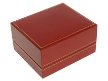 Red jewely box Stock Image