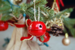 Red Jingle Bell Royalty Free Stock Images