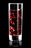 Red juice Stock Photography