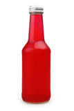 Red juice from rose petals Royalty Free Stock Photo