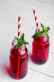 Red juices Stock Photos