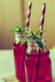 Red juices Stock Photo