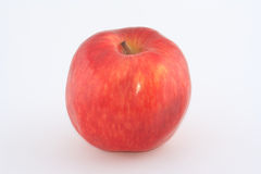 The red juicy apple for dessert. The red juicy fresh apple for dessert Royalty Free Stock Photos