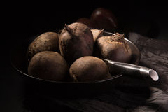 Red juicy beetroot Stock Images