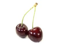 Red juicy cherries Royalty Free Stock Photography