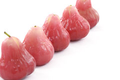Red juicy guava Royalty Free Stock Photography