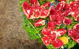 Red Juicy and Helathy Fruit Pomegranate