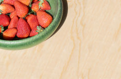 Red and juicy strawberries Royalty Free Stock Photography
