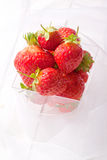 red juicy summer fruits Royalty Free Stock Photography