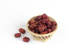 Red jujube Royalty Free Stock Photo