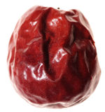 Red jujube isolated Stock Photo