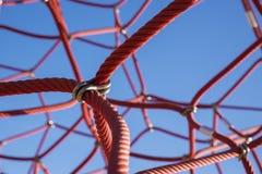 Red Jungle Gym Stock Photos