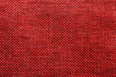 Red jute background. The picture shows a red jute background royalty free stock images