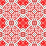 Red kaleidoscope Royalty Free Stock Photo